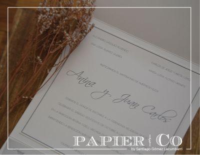Fotografías de NUESTRO TRABAJO de Papier & Co