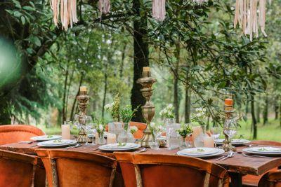 Fotografías de TABLE SETTING BOHO de Aline Brun