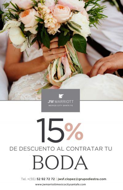 Fotografías de PROMO 15% DE DESCUENTO de JW Marriott Mexico City Santa Fe