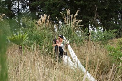 Fotografías de Ana & Manue,l Jardin SAN Hipolito de Alan Cervantes