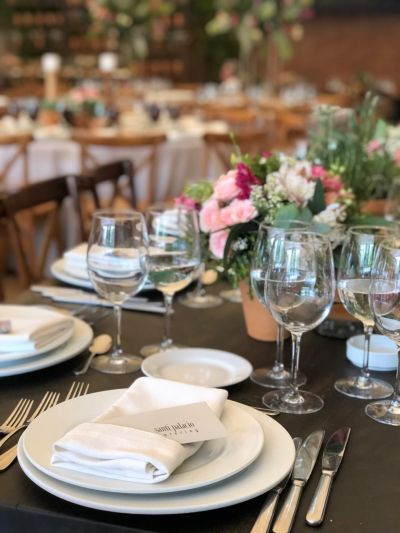 Fotografías de BODAS de Santi Palacio Catering