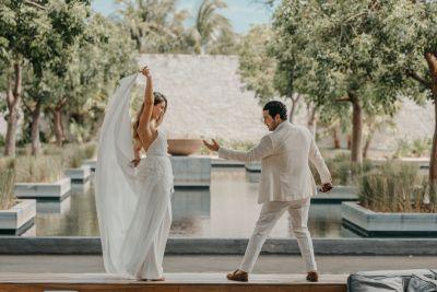 Fotografías de Mariana & Iván (Cancún) de The White Royals