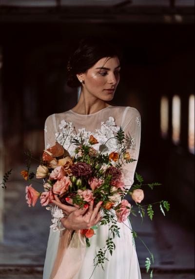 Fotografías de Romantic Bride de Flor sin Raíz Floristería