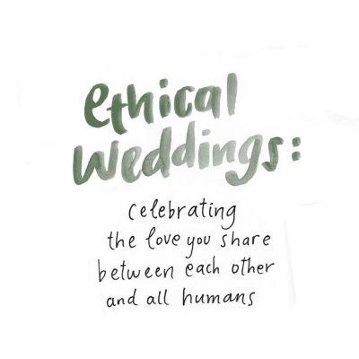Fotografías de About Ethical Weddings  de Flor sin Raíz Floristería